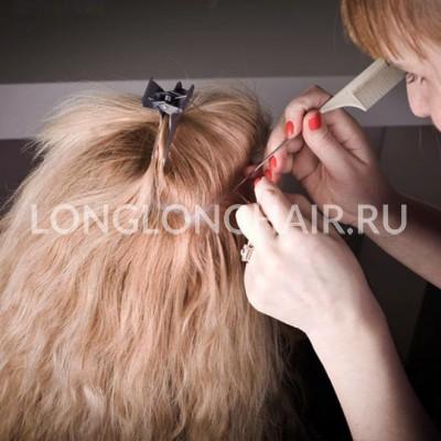 Наращивание волос в туле.цена